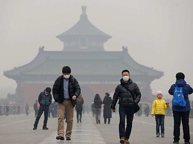 Chinês processa governo devido à alta poluição atmosférica