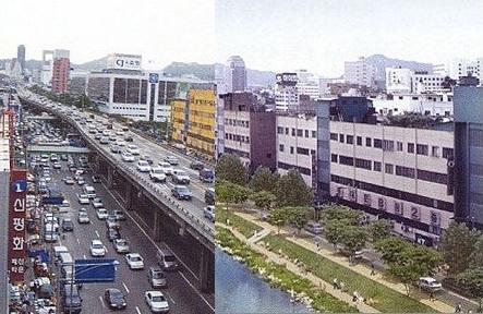 Uma impressionante renovação urbana em Seul