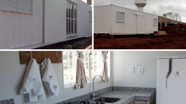 Paranaense projeta sua própria casa-contêiner