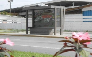 Santa Catarina investe em pontos de ônibus ecológicos