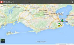 Rio de Janeiro cria mapa colaborativo para usuários de bicicletas