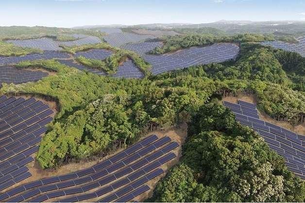 Japão cria usina solar em campos de golfe