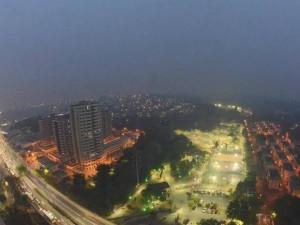 Manaus amanhece tomada por fumaça pelo quinto dia seguido